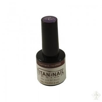 S-Nails - Titan Nail Design UV/LED gel lak za nohte  steklenica - Currant (no. 256)
