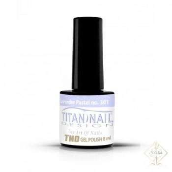 S-Nails - Titan Nail Design UV/LED gel lak za nohte  steklenica - Pastel lavender (no. 301)
