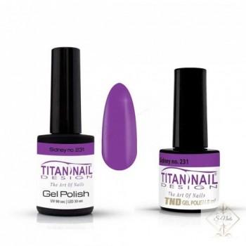 S-Nails - Titan Nail Design UV/LED gel lak za nohte  steklenica - Sidney (no. 231)