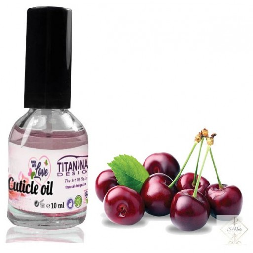 S-Nails - Češnja - Olje za obnohtno kožico z vitamini A, E, F & H
