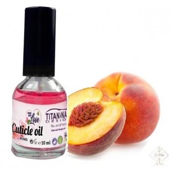 S-Nails - Breskev - Olje za obnohtno kožico z vitamini A, E, F & H