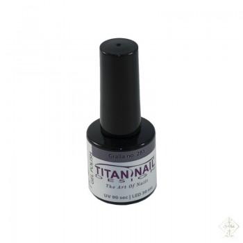 S-Nails - Titan Nail Design UV/LED gel lak za nohte  steklenica - Gralla (no. 281)