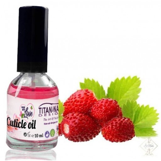 S-Nails - Divja jagoda - Olje za obnohtno kožico z vitamini A, E, F & H