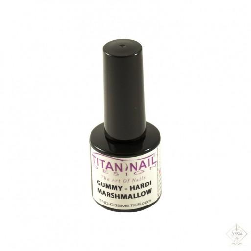 S-Nails - Titan Nail Design UV/LED gel lak za nohte steklenica- Marshmallow elastic repair