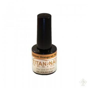 S-Nails - Titan Nail Design UV/LED gel lak za nohte - steklenica  Summer Orange (no. 96)