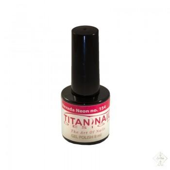 S-Nails - Titan Nail Design UV/LED gel lak za nohte - steklenica Nevada Neon (no. 154)