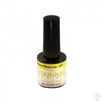 S-Nails - Titan Nail Design UV/LED gel lak za nohte - steklenica Jamaica Neon (no. 157)
