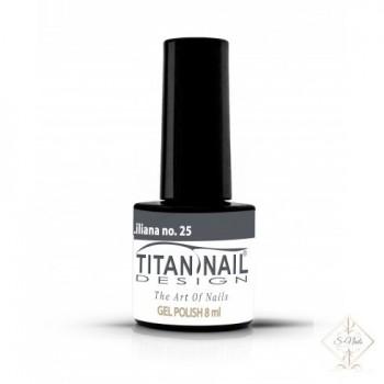 S-Nails - Titan Nail Design UV/LED gel lak za nohte - steklenica  Liliana (no. 25)
