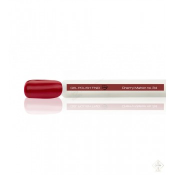 S-Nails - Titan Nail Design UV/LED gel lak za nohte - odtenek  Cherry Mahon (no. 34)